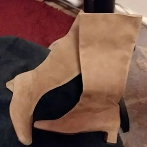 An elegant pair of Banana Republic Suede Boots!